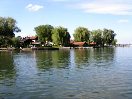 Bootshäuser der Fraueninsel