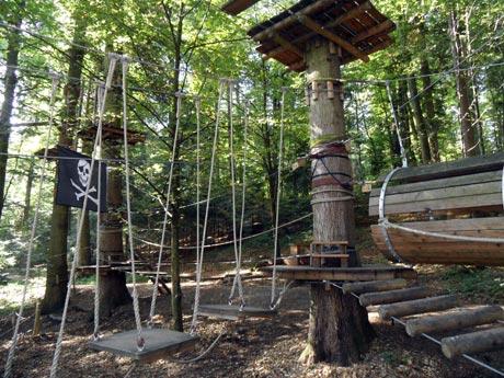 Kletterwald Prien am Chiemsee - Klettern für Kinder und Familien