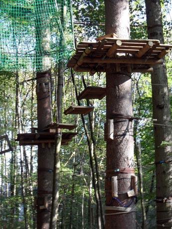 Kletterwald Prien am Chiemsee - Waldseilgarten