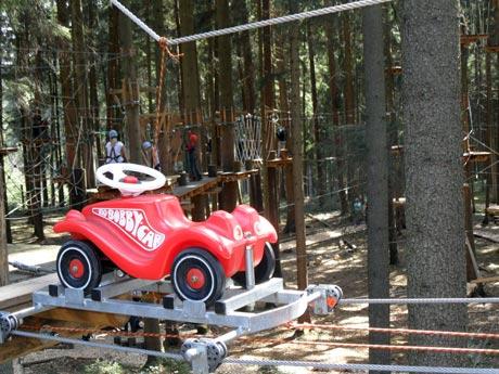 Waldseilgarten Oberreith - Klettern für Kinder
