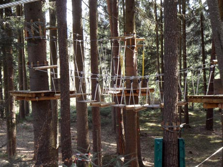 Waldseilgarten Oberreith - Klettern und Abendteuer für die ganze Familie