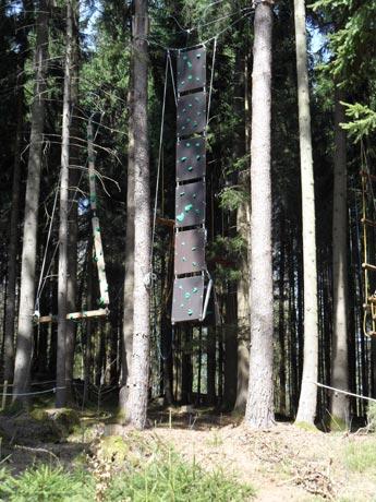 Waldseilgarten Oberreith - Hochseilgarten und Kletteranlage